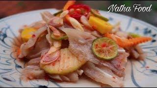 Tai heo chua ngọt cóc xoài giòn ngon, bí quyết không bị đắng, không bị nhớt || Natha Food
