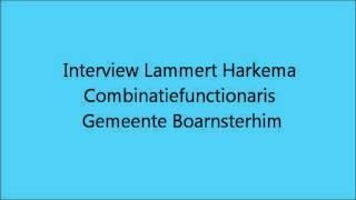 Combinatiefunctionaris Boarnsterhim