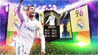 JE PACK CRISTIANO RONALDO INFORM 96 ! FIFA 18 Ultimate Team