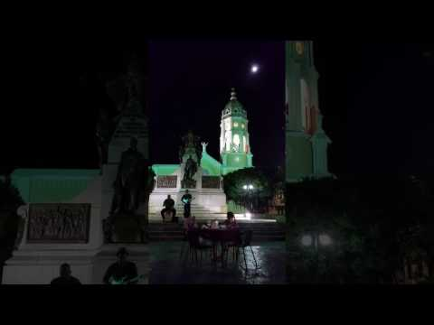 A Night on Bolivar Square in Panama City