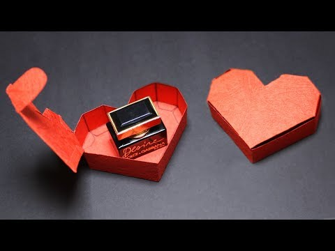 DIY Heart Gift Box for Valentine's Day