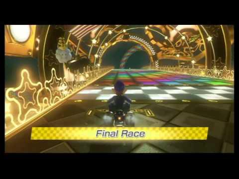 Mario Kart 8 walkthrough part 16: 100cc Lightning Cup