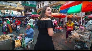 A DAY IN MANILA - QUIAPO MARKET & FILIPINO STREET FOOD IN MANILA