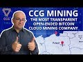 CCG Mining - The Most Transparent Open-Ended Bitcoin Cloud Mining Company