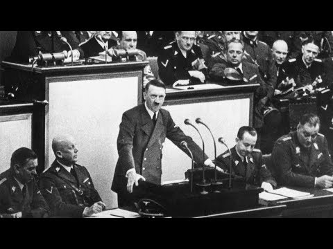 "Adolf Hitler says ""Deutschland"" 