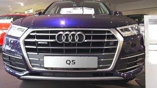 2017 Audi Q5. Обзор (интерьер, экстерьер, двигатель)
