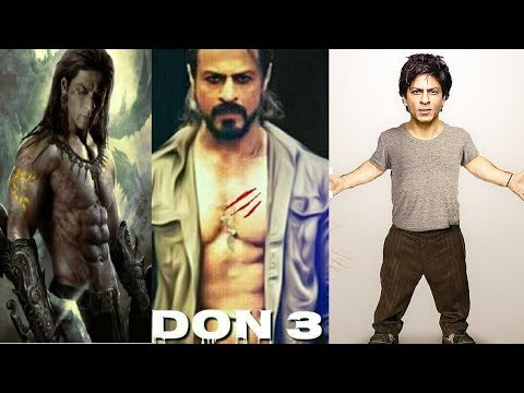 Shah Rukh Khan Upcoming Movies - Don 3 Trailer Animated - 2018 to 2019
