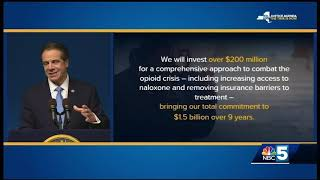 Gov. Cuomo lays out widespread plan for 2019