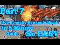 How To Make Dynamite Bomb Last Day Rules Survival ( Part 7 )