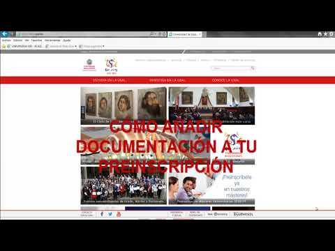 Tutorial Preinscripción Másteres Universitarios USAL 2018/2019