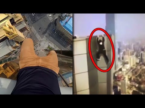 Top 15 Most Scary Videos Caught on Skyscrapers