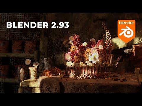 Обзор Blender 2.93