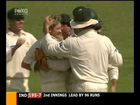 Michael Clarke 6 for 9 vs India -  2004 4th test Mumbai
