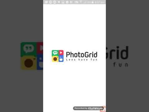 How To Make A BTS Wallpaper Using Photo Grid