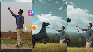 Horse photo editing in Picsart, Picsart photo editing Tutorial 2018