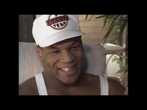 Charley Steiner Interview With Mike Tyson (1990)