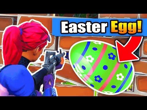 The RAREST EASTER EGG in Fortnite Battle Royale!