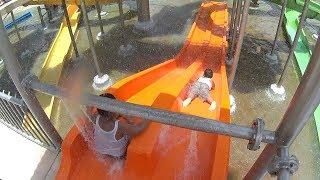 Little Orange Water Slide at Jogja Bay Waterpark