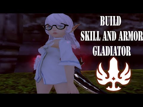Build Skill And Armor Gladiator PVE And Tes DPS - Dragon Nest