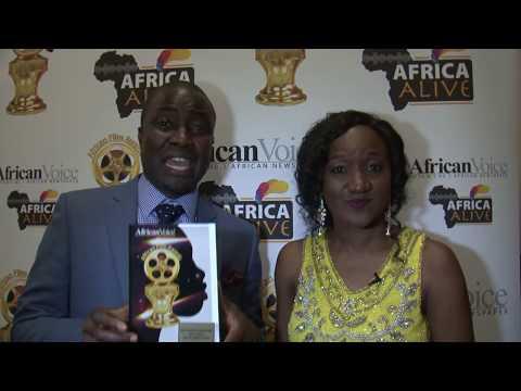 Africa Alive Interviews Bidemi Alaran Best Producer (Diaspora For African Film In Yoruba Language