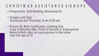 Holiday Assistance:  Stuff a Bus Sign Up