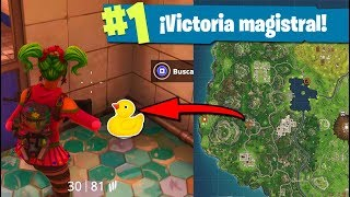 *SECRETO* TODOS los PATOS de FORTNITE: Battle Royale