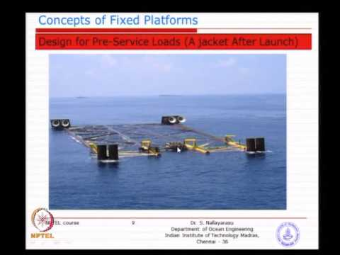 Mod-02 Lec-02 Concepts of Fixed Offshore Platform Deck and J
