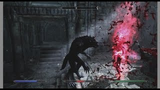 Бесконечная война вампиров и вервольфов Skyrim