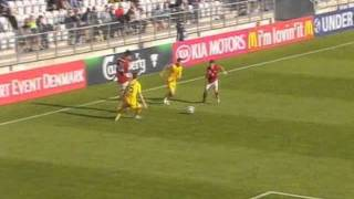 Ukraine 0-2 Czech Republic EURO U21(Borek Dockal)