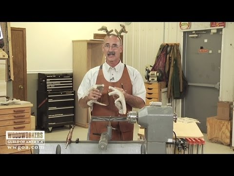 Woodworking Tips: Working With Antler