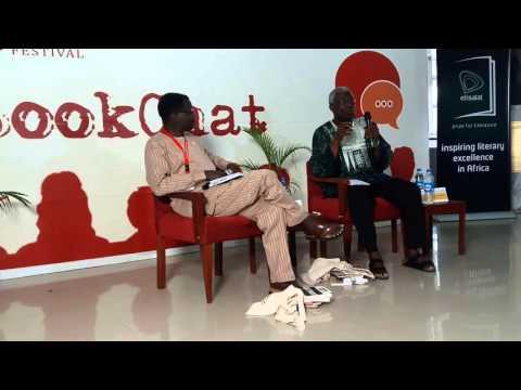 Prof Niyi Osundare Interviewed by Kunle Ajibade at the Ake Festival 2015. 20151121 172938