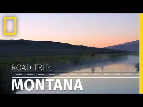 Road Trip: Travel Through Scenic Montana in 90 Seconds | National Geographic