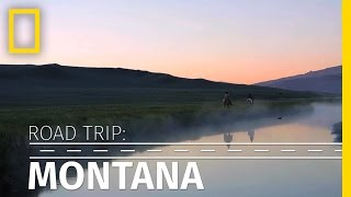 Road Trip: Travel Through Scenic Montana in 90 Seconds