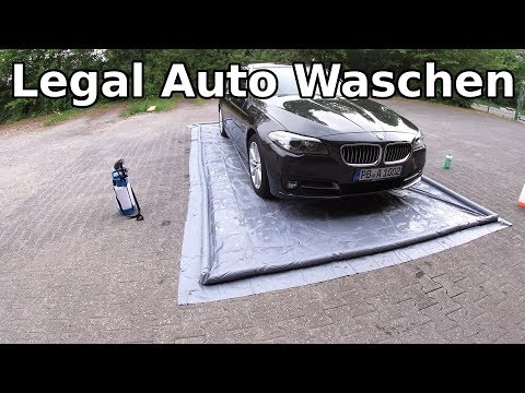 Legal Zuhause Auto Waschen || Günstige Alternative zur Waschmatte