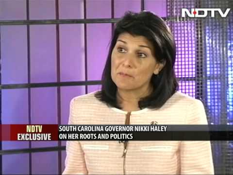 \'Would never disown my roots\': Nikki Haley to NDTV