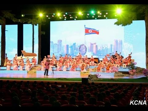 Samjiyon Band: Medley of foreign songs