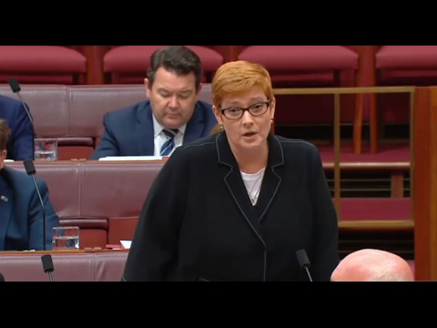 Defence Minister Marise Payne asked when she discussed Shoalwater Bay with PM