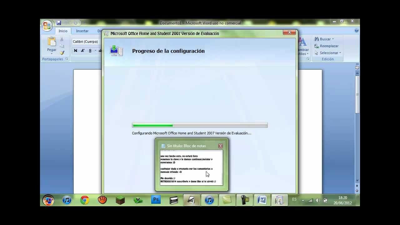 Tutorial – Cómo validar Microsoft Office Home…