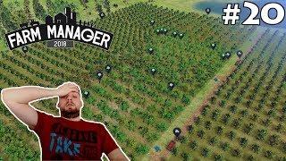 LUDZIÓW JAK MRÓWKÓW! #20 - FARM MANAGER 2018 | SWIATEK