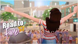 CONVIERTE A TU SIM EN UN CANTANTE FAMOSO!! 🎤Singles, conciertos & más 🌟 ROAD TO FAME 🌟 Sims 4