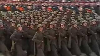 7 ноября 1987г. Москва. Красная площадь. Военный парад.
