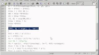 dft code in one hour with matlab part 3 subspace diagonalisation