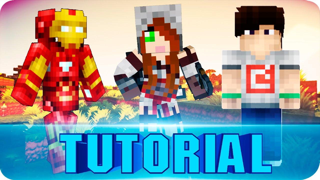 Minecraft PE This Is How I Got My Custom Skin To Work Minecraft - Skin para minecraft pe hermione