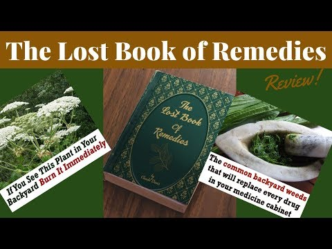 ✅ The Lost Book of REMEDIES Review ✅ Best Herbal Medicine Guide ✅
