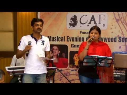 Chaha hai tujhko by Krishnan & Pooja Bose at Jashn 7