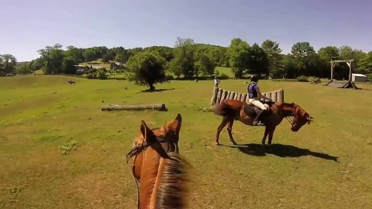 Hitching Post Farm Camp Cross Country Lesson Youtube