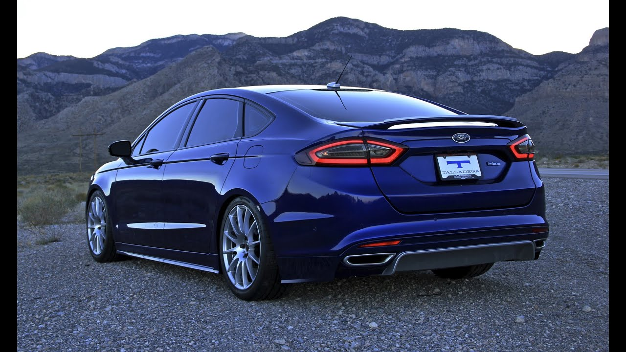 2013 Ford Fusion Titanium Custom Talladega Lights Youtube