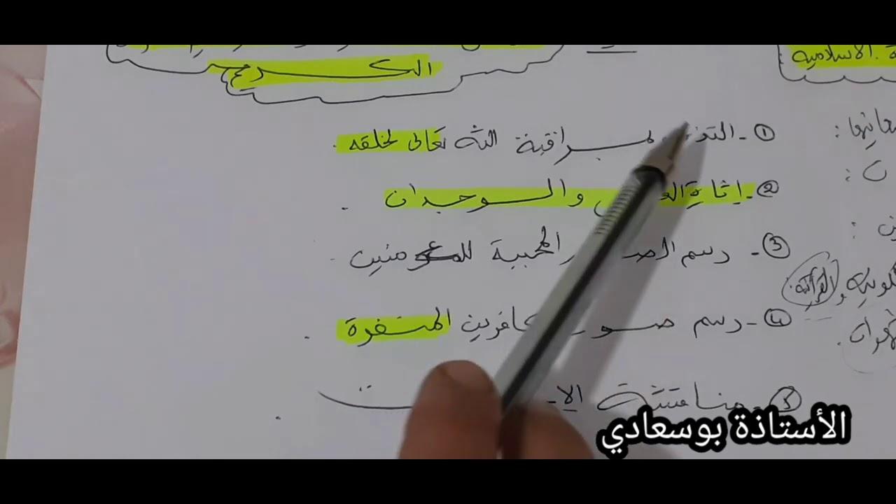 الدرس2:وسائل القرآن في تثبيت العقيدة الإسلامية