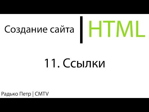 HTML. 11. Ссылки