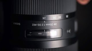 Sigma 24-35mm f/2 ART Review! It's so SHARP!